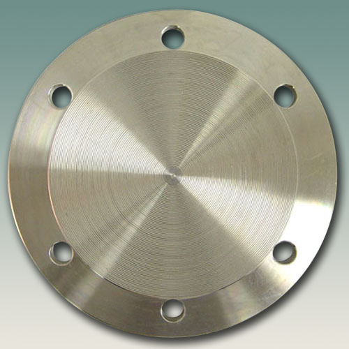 Flange - Blind - 6 Hole Tank Pad - Stainless Steel