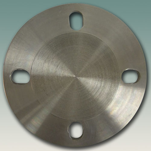 Flange - Blind 4 slotted holes to suit DN80 and 3
